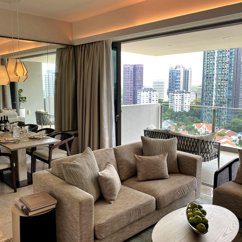 Fraser Residence Orchard Singapore Two-Bedroom Premier Terrace