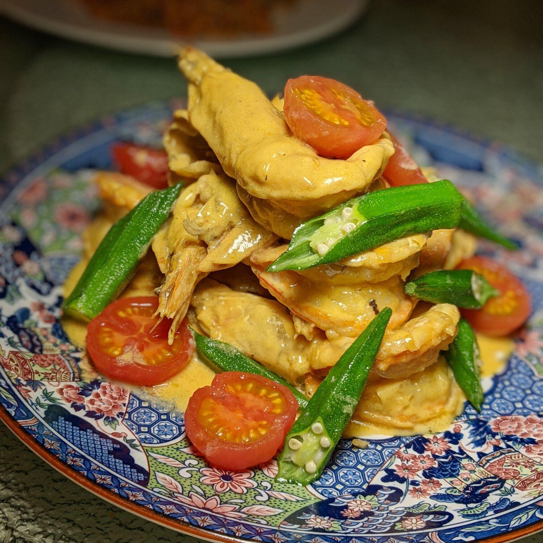 Mandarin Orchard Singapore Shisen Hanten Sautéed King Prawn in Yuzu Butter Sauce