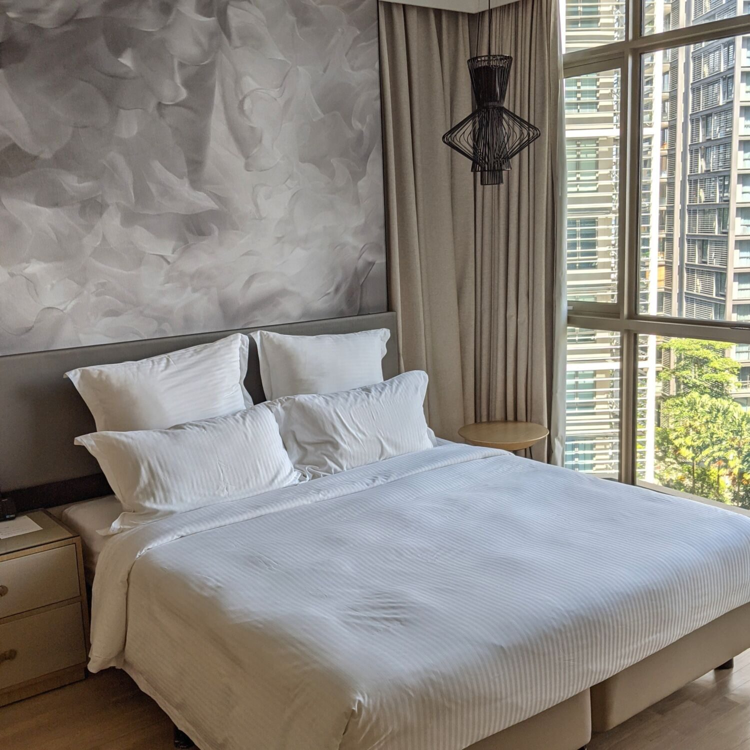 Ascott Orchard Singapore One-Bedroom Premier Suite Bedroom