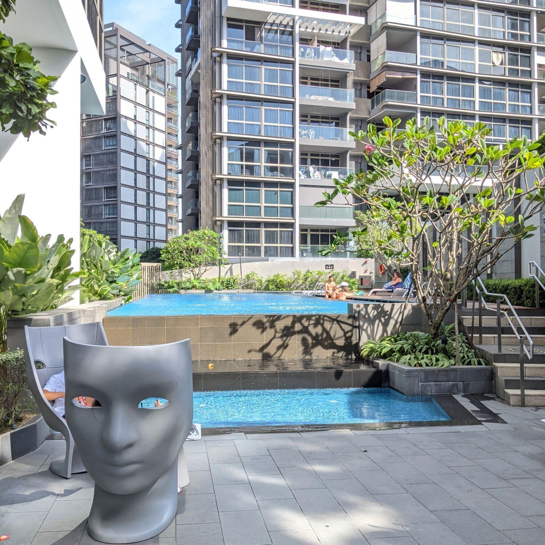 Ascott Orchard Singapore Swimming Pool