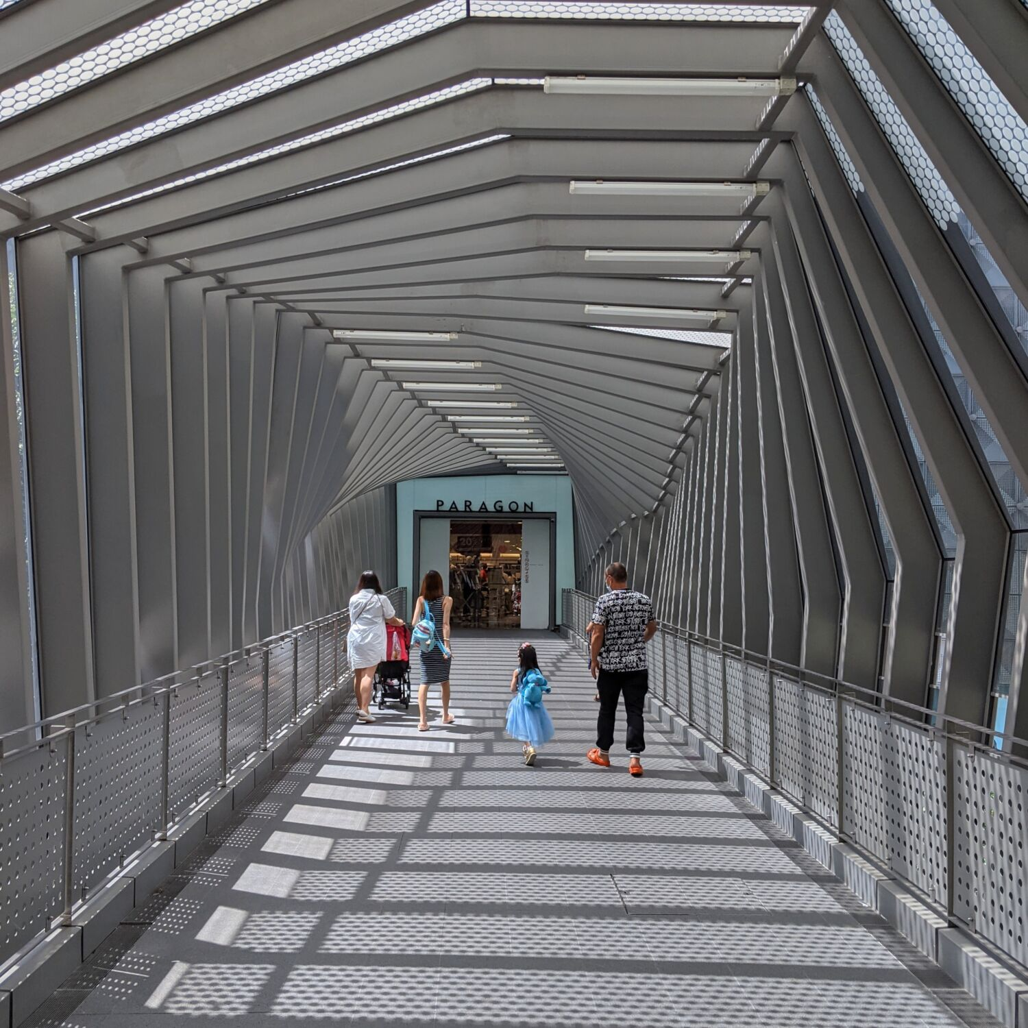 Ascott Orchard Singapore Covered Bridge Access to Paragon Mall