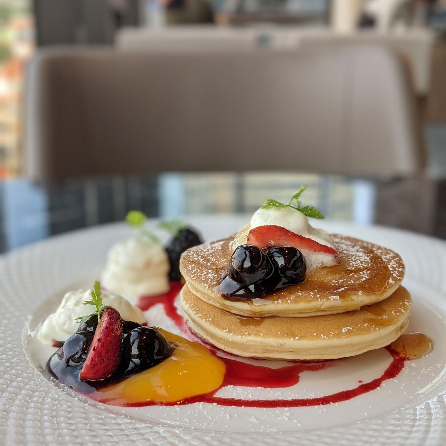 The Clan Hotel Singapore Qin Restaurant Breakfast Pancake Breakfast