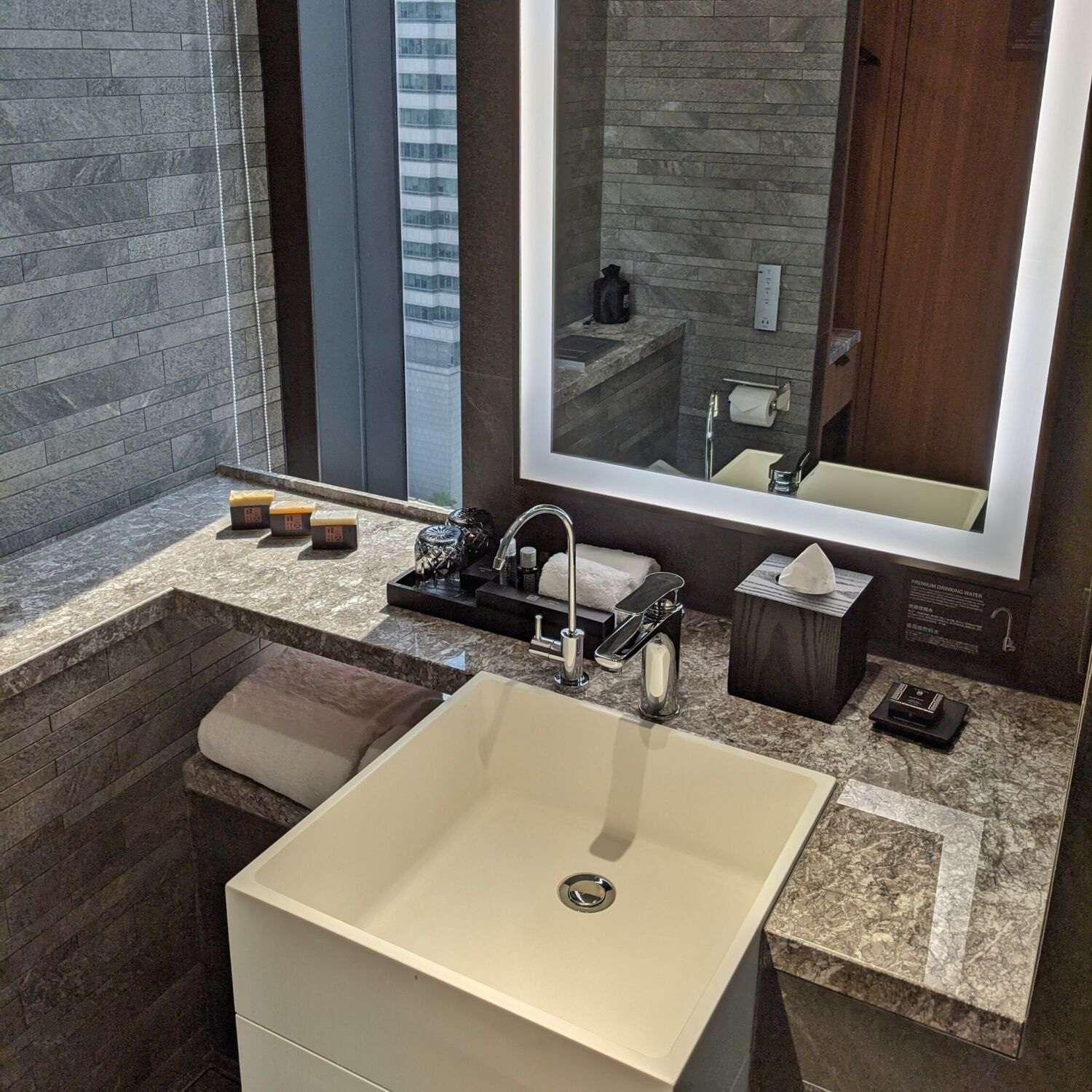 The Clan Hotel Singapore Premier Room Bathroom