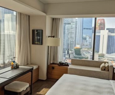 The Clan Hotel Singapore Premier Room Bedroom