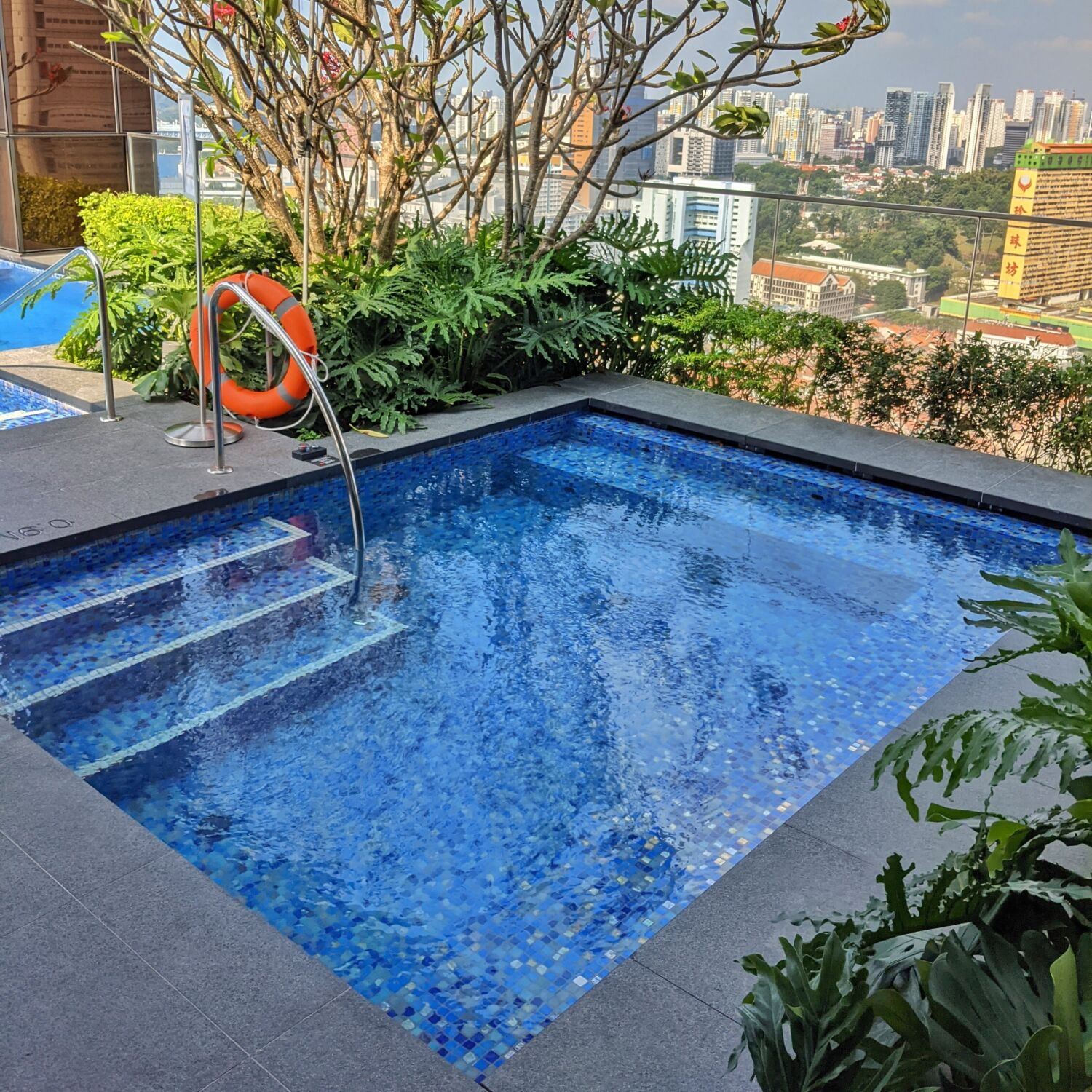 The Clan Singapore Jacuzzi