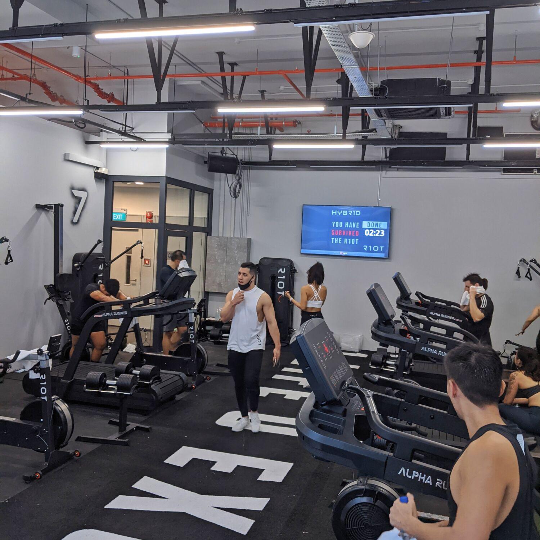 R10T Gym Singapore HYBR1D