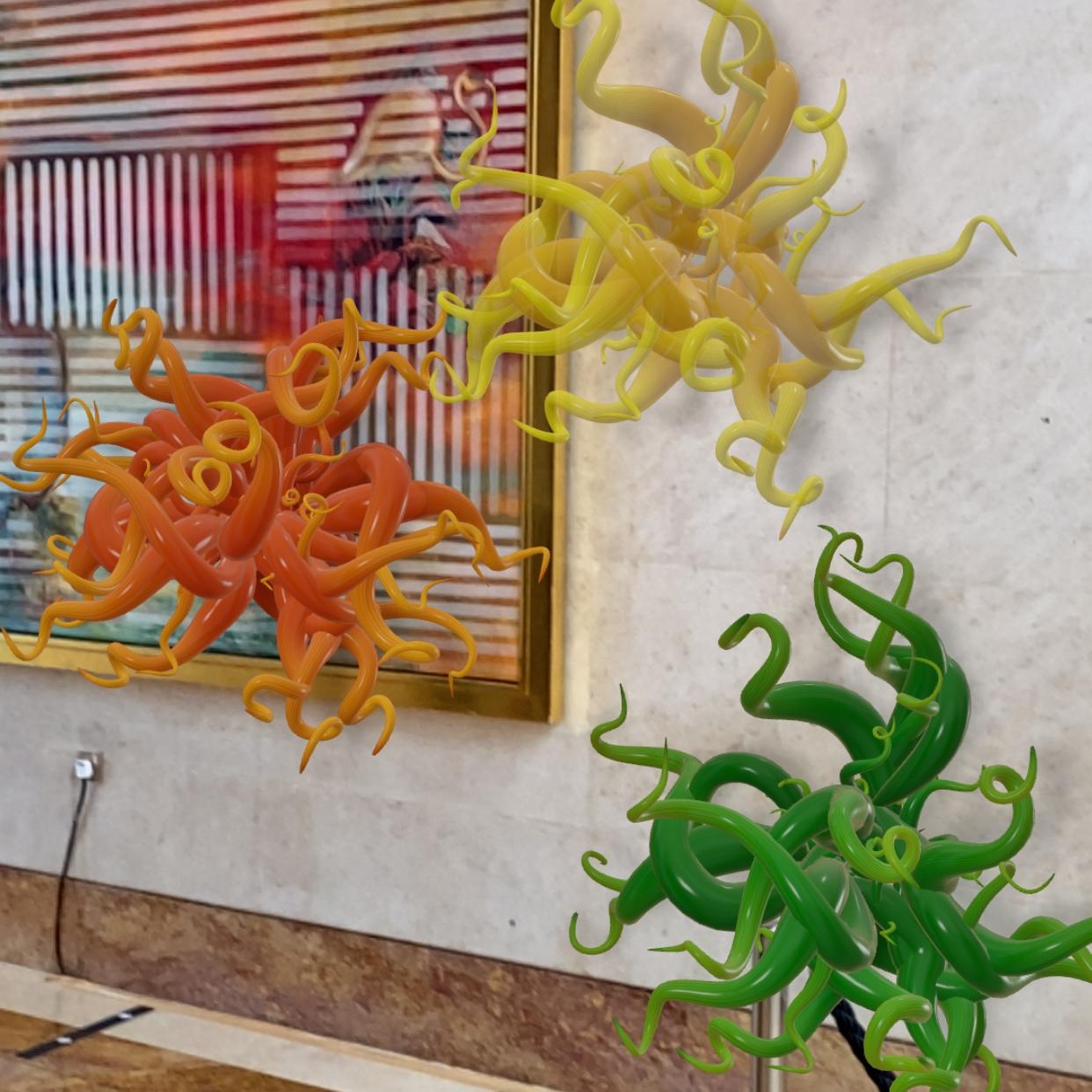 The Ritz-Carlton Millenia Singapore Augmented Reality Hotel Art Tour Sunset
