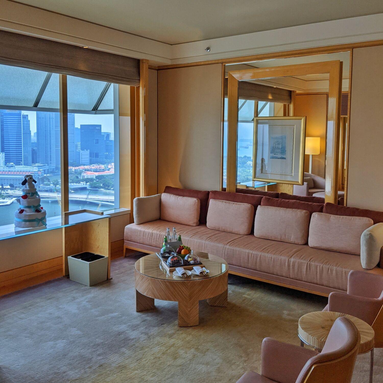 The Ritz-Carlton Millenia Singapore One-Bedroom Millenia Suite