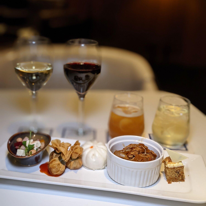 Hilton Singapore Executive Lounge Evening Cocktails and Canapes