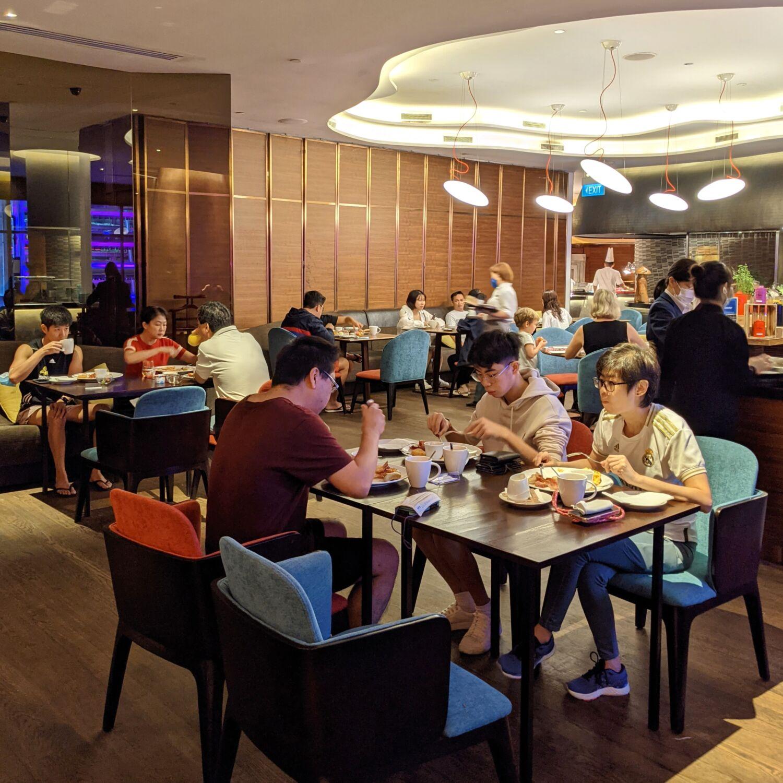 Hilton Singapore Opus Grill Breakfast