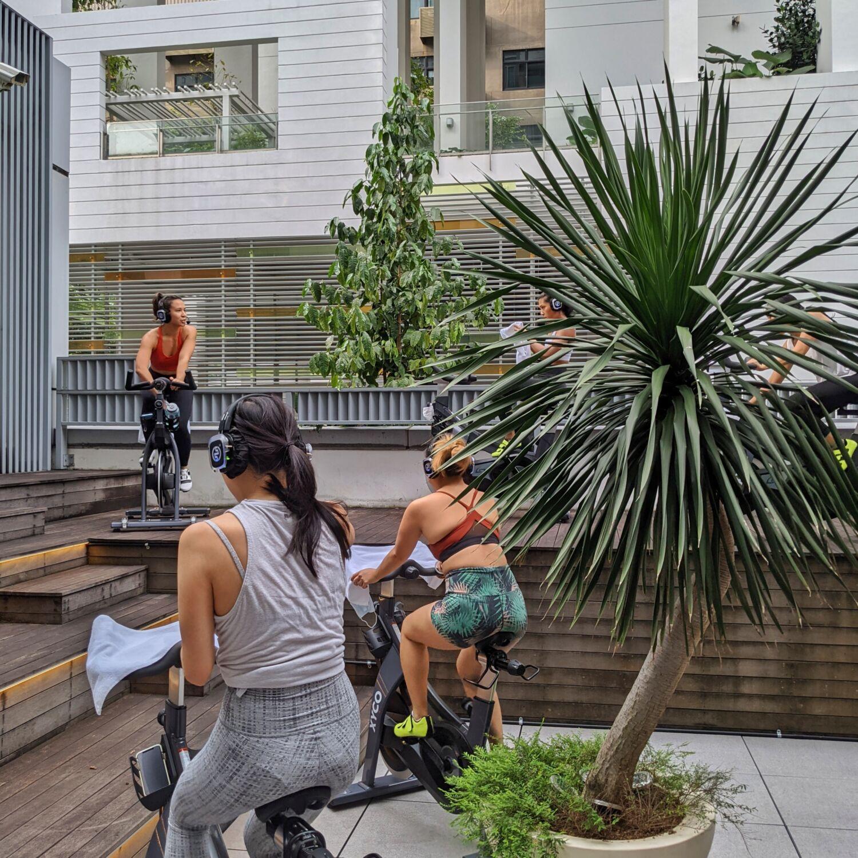 XYCO Studio Outdoor Patio Ride Tika