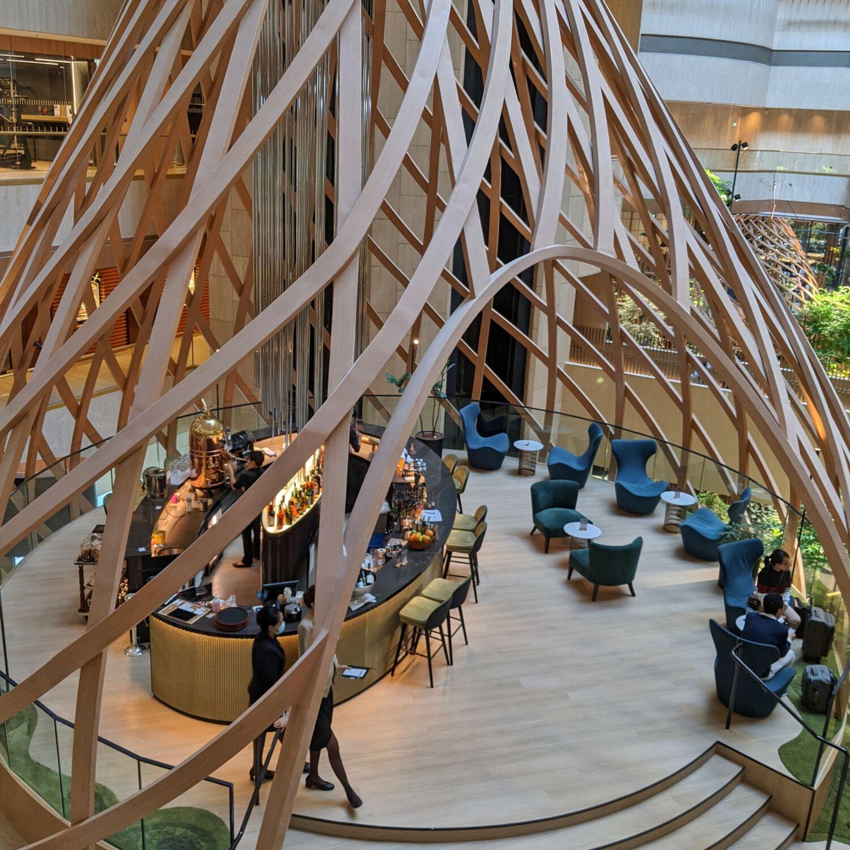 PARKROYAL COLLECTION Marina Bay Atrium Lounge