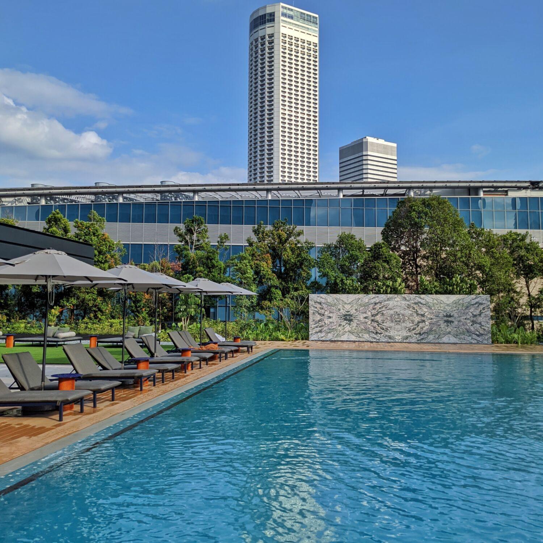 PARKROYAL COLLECTION Marina Bay Singapore Swimming Pool