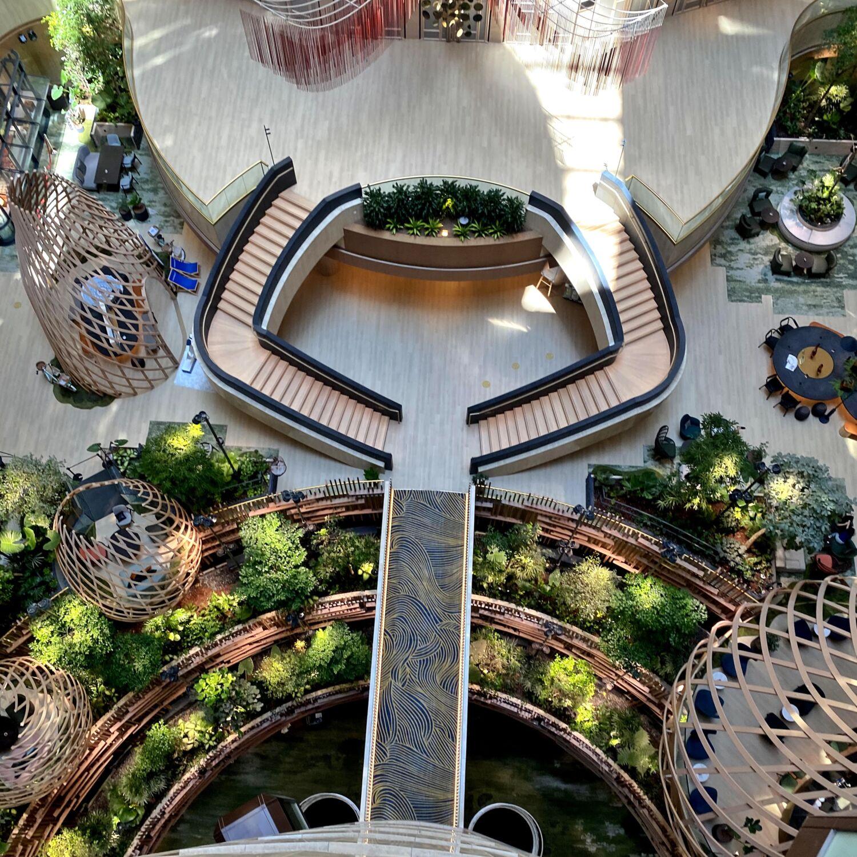 PARKROYAL COLLECTION Marina Bay, Singapore Atrium