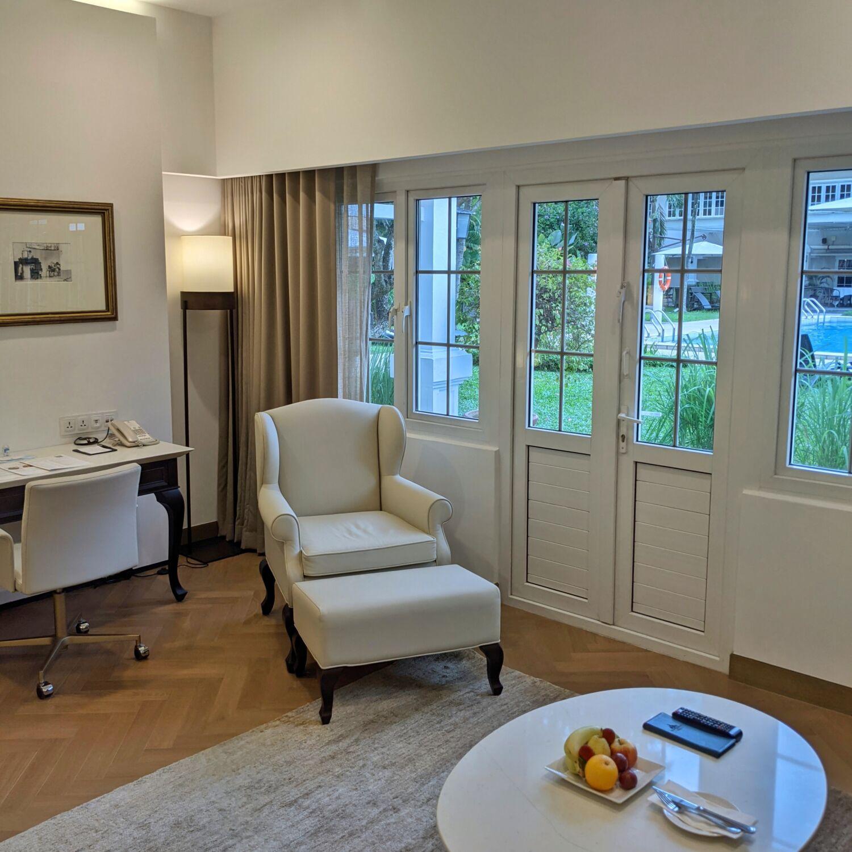 Goodwood Park Hotel Singapore Poolside Suite