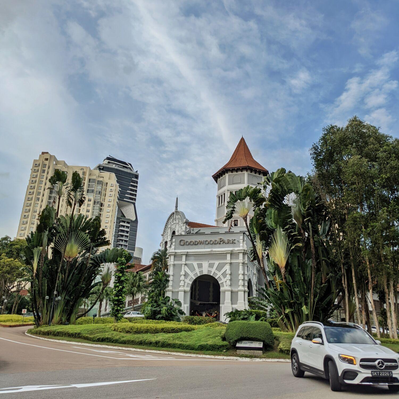 Goodwood Park Hotel Singapore Facade
