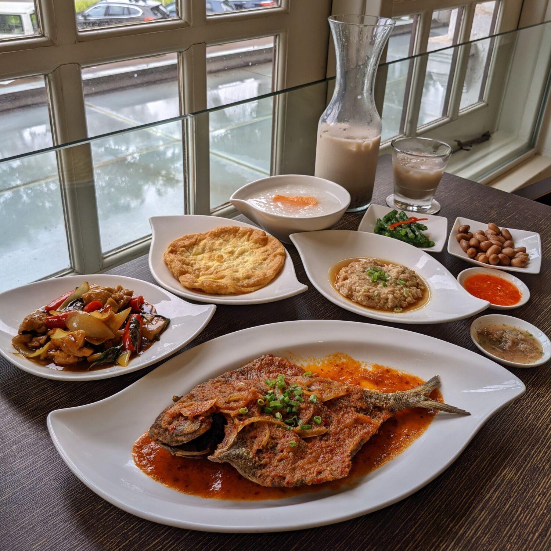 Goodwood Park Hotel Singapore Coffee Lounge Taiwan Porridge A La Carte Buffet