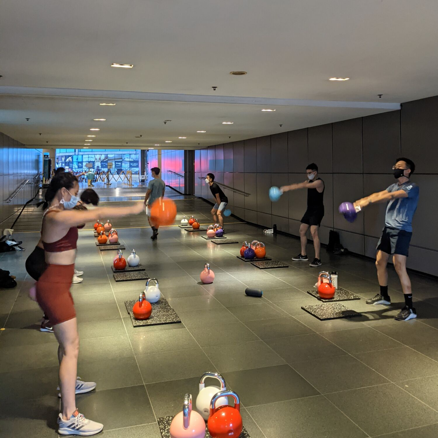 Division Athletics Singapore Kettlebell Programme Outdoor Bootcamp