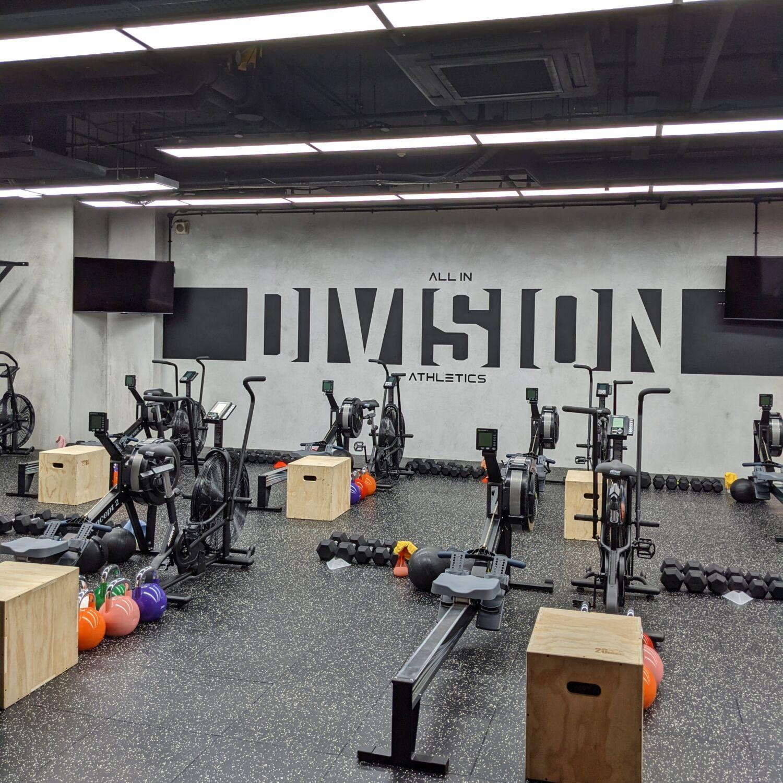 Division Athletics Singapore Conditioning Training Floor