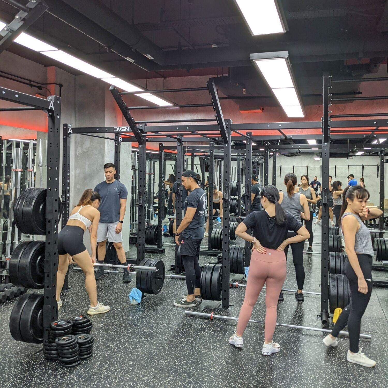 Division Athletics Singapore Strength Training Floor