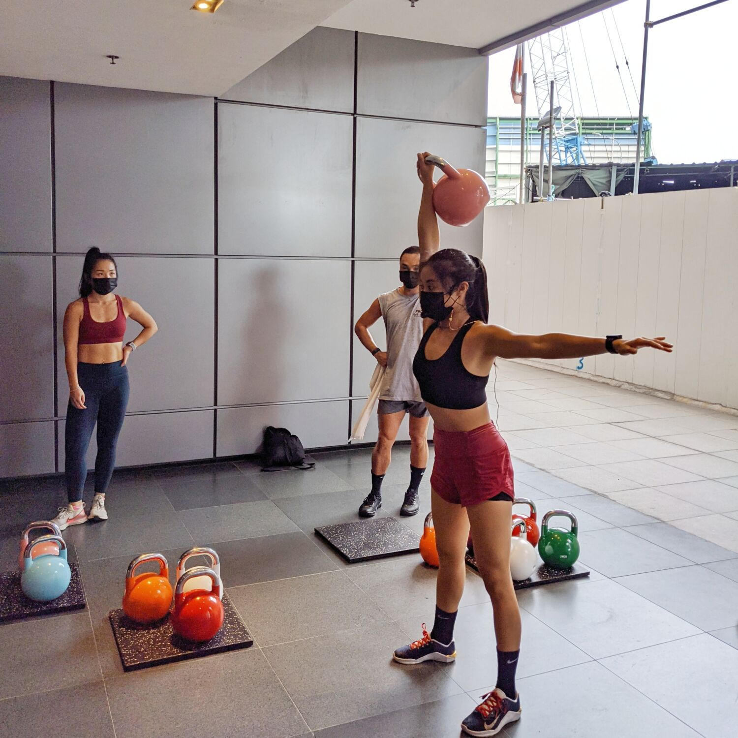 Division Athletics Singapore Alicia Kettlebell Programme Outdoor Bootcamp