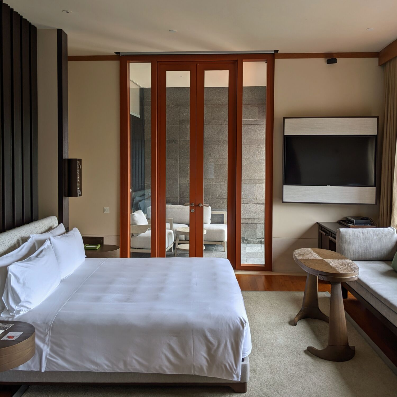 Capella Singapore Capella Suite Bedroom