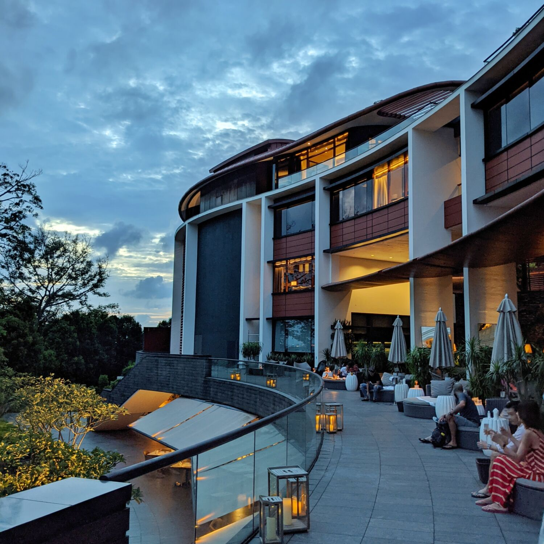 Capella Singapore Bob's Bar