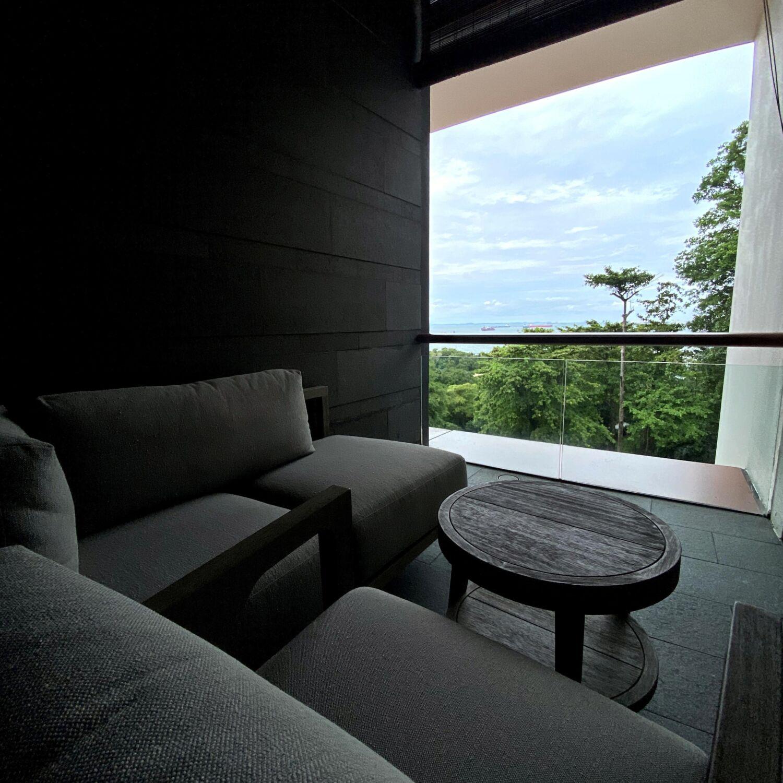 Capella Singapore Capella Suite Balcony