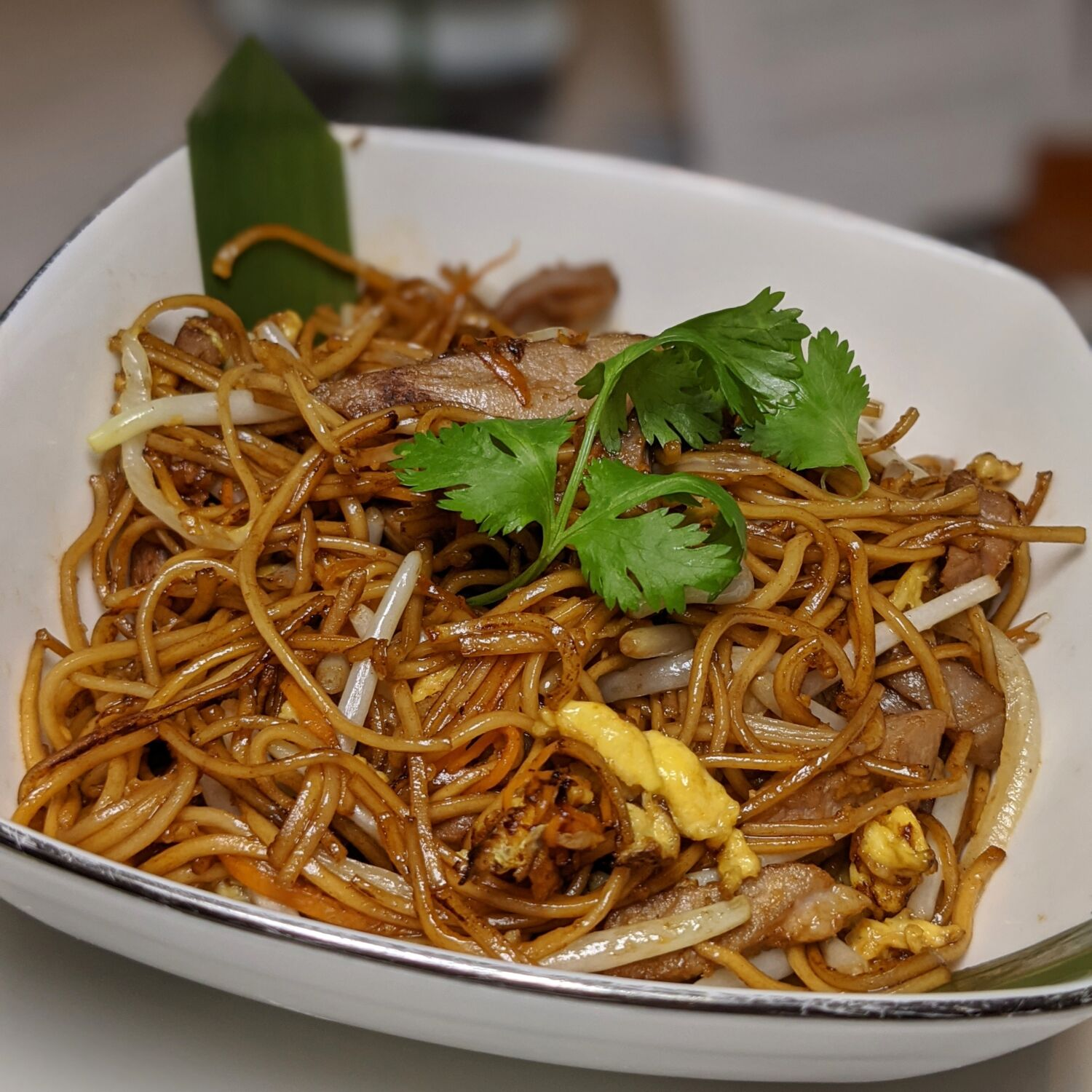 Capella Singapore Cassia Wok-fried Shredded Duck with Noodles