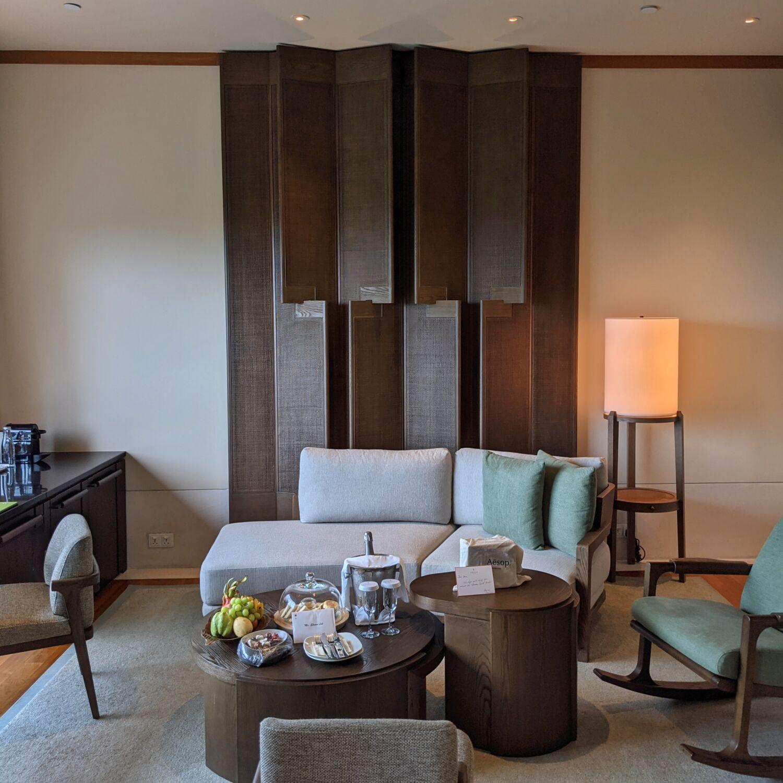 Capella Singapore Capella Suite Living Room