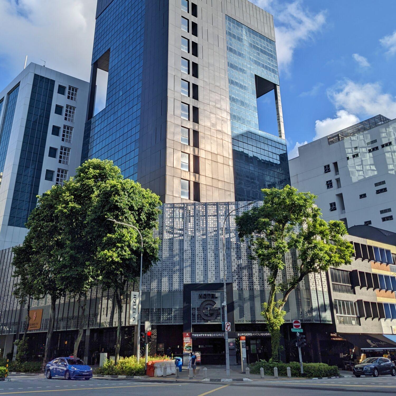 Hotel G Singapore Exterior