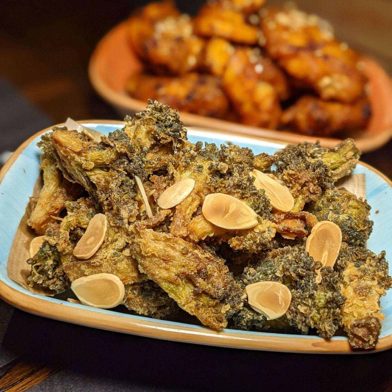 Hotel G Singapore 25 Degrees Singapore Crispy Broccoli