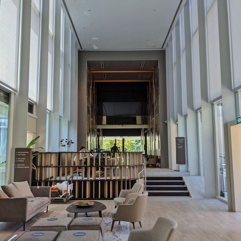 Oasia Resort Sentosa Reception