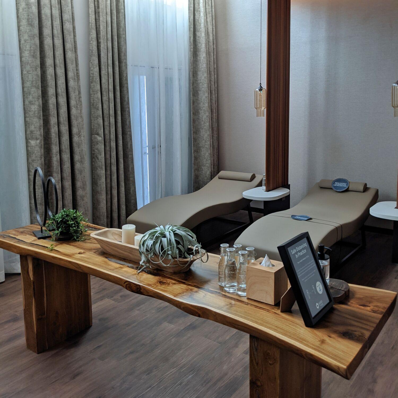 Oasia Resort Sentosa Oasia Spa Meditation Lounge