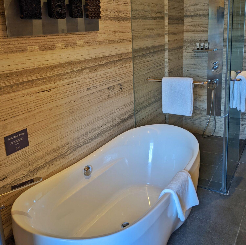Oasia Resort Sentosa Premier Room Bathroom